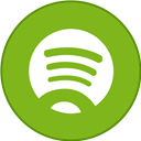 Border, Round, Spotify, With Icon