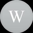 Circle, Flat, Wikipedia Icon