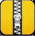 Yellow, Zip Icon