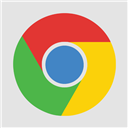 Chrome, Flat Icon