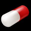 Capsule, Red Icon