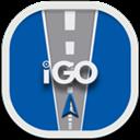 Flat, Igo, Round Icon