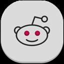 Flat, Reddit, Round Icon