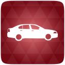 Car, Red Icon