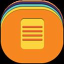 Files, Flat, Round Icon
