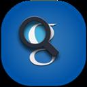 Flat, Google, Round, Search Icon