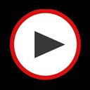 Round, Youtube Icon