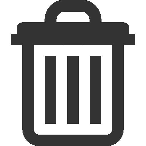 Icon Delete #153285 - Free Icons Library |Delete Trash Button Icon