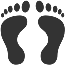 Footprints, Human Icon
