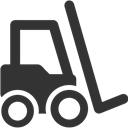 Fork, Truck Icon