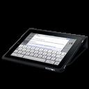 Case, Flip, Ipad, Keyboard Icon