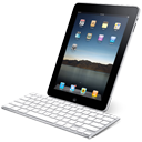 Ipad, Keyboard, With Icon