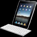 Ipad, Keyboard, With Icon