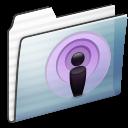 Folder, Graphite, Podcast, Sidebar, Stripe Icon