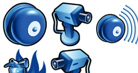 Bluefire Icons