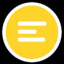 Accessories, Editor, Icon, Text Icon