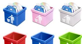 Dsquared Trash Icons