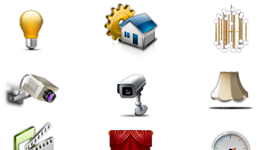 House Management Icon Set Icons