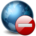 Earth, Stop Icon