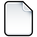 Blank, Document Icon
