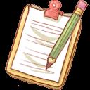 Hp, Notepad2+Pencil Icon