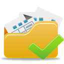 Accept, Folder, Open Icon