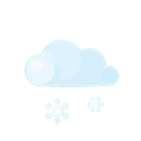 Day, Lightcloud, Sleet Icon