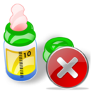 Bottle, Close, Feeding Icon