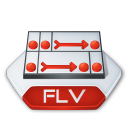 Flash, Flv Icon