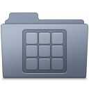 Folder, Graphite, Icons Icon