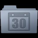 Folder, Graphite, Schedule Icon