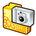 Camera, Digital, Folder Icon