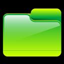 Folder, Generic, Green Icon