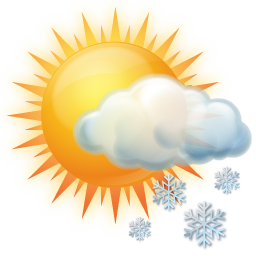 Image result for sun snowing icon