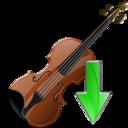 Down, Violin Icon