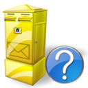 Box, Help, Letter Icon