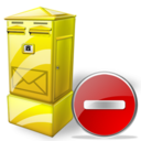 Box, Delete, Letter Icon