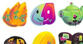 Gaia 10 Icons