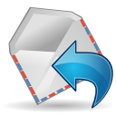 Mail, Reply, Stock Icon