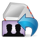 All, Mail, Reply, Stock, To Icon
