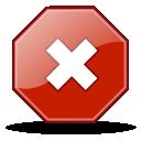 Stock, Stop Icon