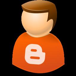 Blogger, Icontexto, User, Web Icon