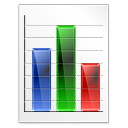 Diagram, Graph, Log, Rating, Scale Icon