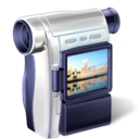 Cam, Camcorder, Camera, Camescope, Video Icon