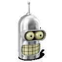 Bender, Futurama, Robot Icon