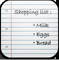 List, Shopping Icon