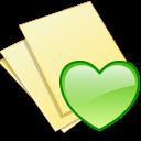Documents, Fav, Yellow Icon