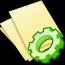 Documents, Exec, Yellow Icon