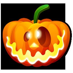 Crazy, Halloween Icon