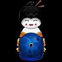 Blue, Japan Icon